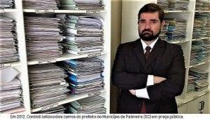 O juiz Fernando Cordioli Garcia, do TJSC foi afastado.  Para a Justiça o Crime da Corrupção parece um bom negócio!