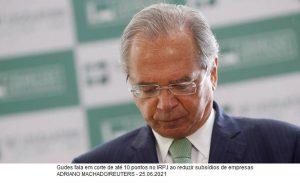 Guedes defende fim de isenções para reduzir IR das empresas