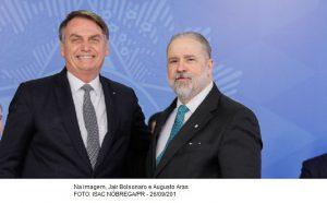 Bolsonaro indica Augusto Aras para novo mandato na PGR.