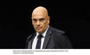 Bolsonaro entrega pedido de impeachment contra Moraes