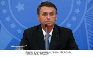 Bolsonaro sanciona LDO e veta fundo eleitoral de R$ 5,7 bilhões.