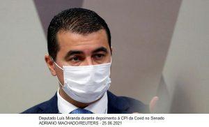 Conselho de Ética analisa caso de Luis Miranda na terça-feira