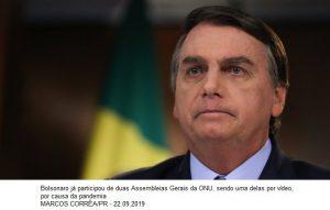 Bolsonaro viaja neste domingo a Nova York para Assembleia da ONU