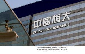 China alerta governos locais para possível colapso da Evergrande