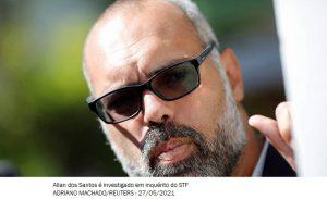 Twitter suspende contas de Allan dos Santos e do Terça Livre