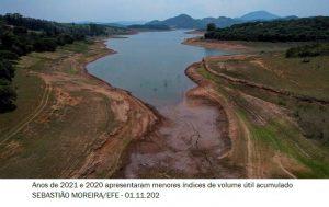 Sistema Cantareira registra menor volume útil de água desde 2016