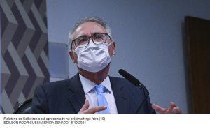 Renan vai pedir indiciamento de Bolsonaro por 11 crimes