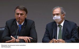 Bolsonaro diz ter 'confiança absoluta' em Guedes