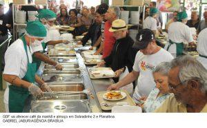 Restaurantes comunitários de mais duas cidades terão café da manhã
