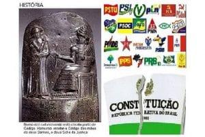 Constituição em desacordo  ou Código de Hamurabi