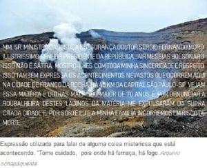 AONDE HÁ FUMAÇA HÁ FOGO — PACTO DE SANGUE – OS DEGENERADOS!