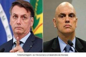 """A ADI de Bolsonaro: O último prego no """"caixão"""" de Moraes"""