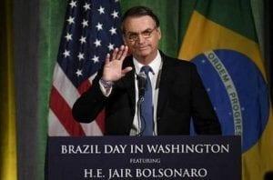 Bolsonaro encontra Trump para reforçar aliança entre Brasil e EUA