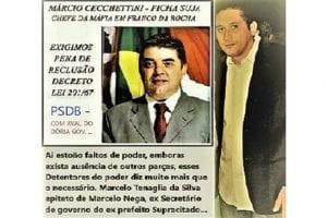 MARCIO CECCHETTINI CONDENADO PELA JUSTIÇA, PRETENDI SER PREFEITO DE FRANCO DA ROCHA!