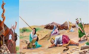 Moisés, no Deserto, Brasil, e as Cobras-1