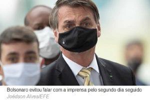 Bolsonaro a apoiadores: 'Nenhum ministro saiu por corrupção'