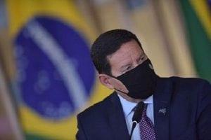 Mourão diz que Brasil precisa ser recompensado por preservar a Amazônia